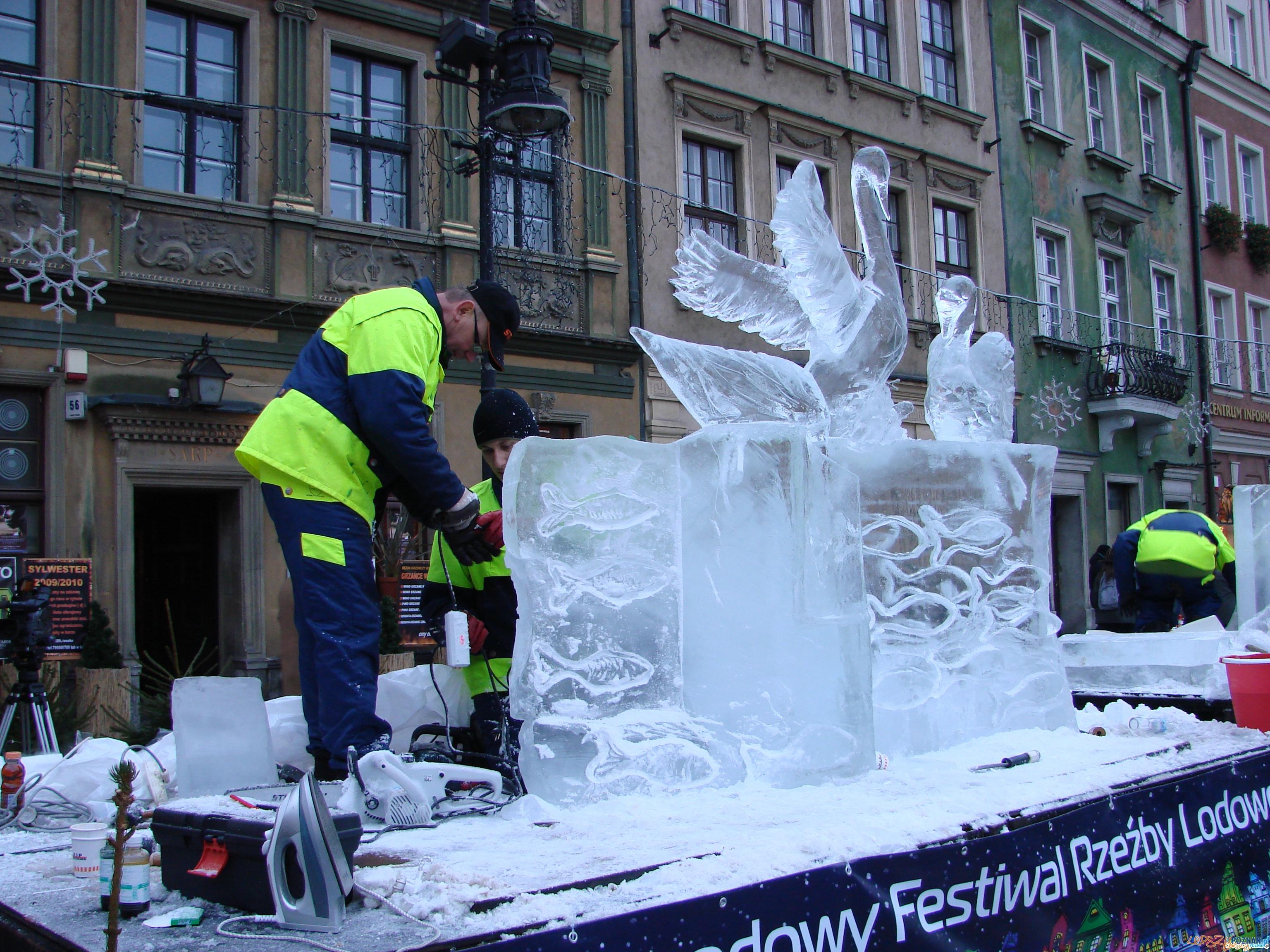 Festiwal Rzeźby Lodowej  Foto:
