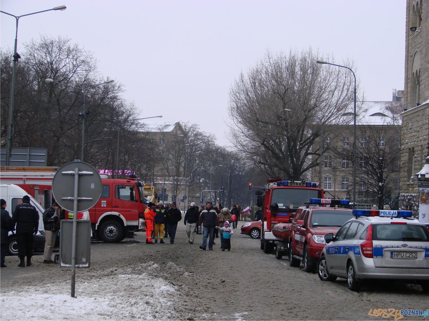 Aleja Niepodległości przy CK ZAMEK  Foto: