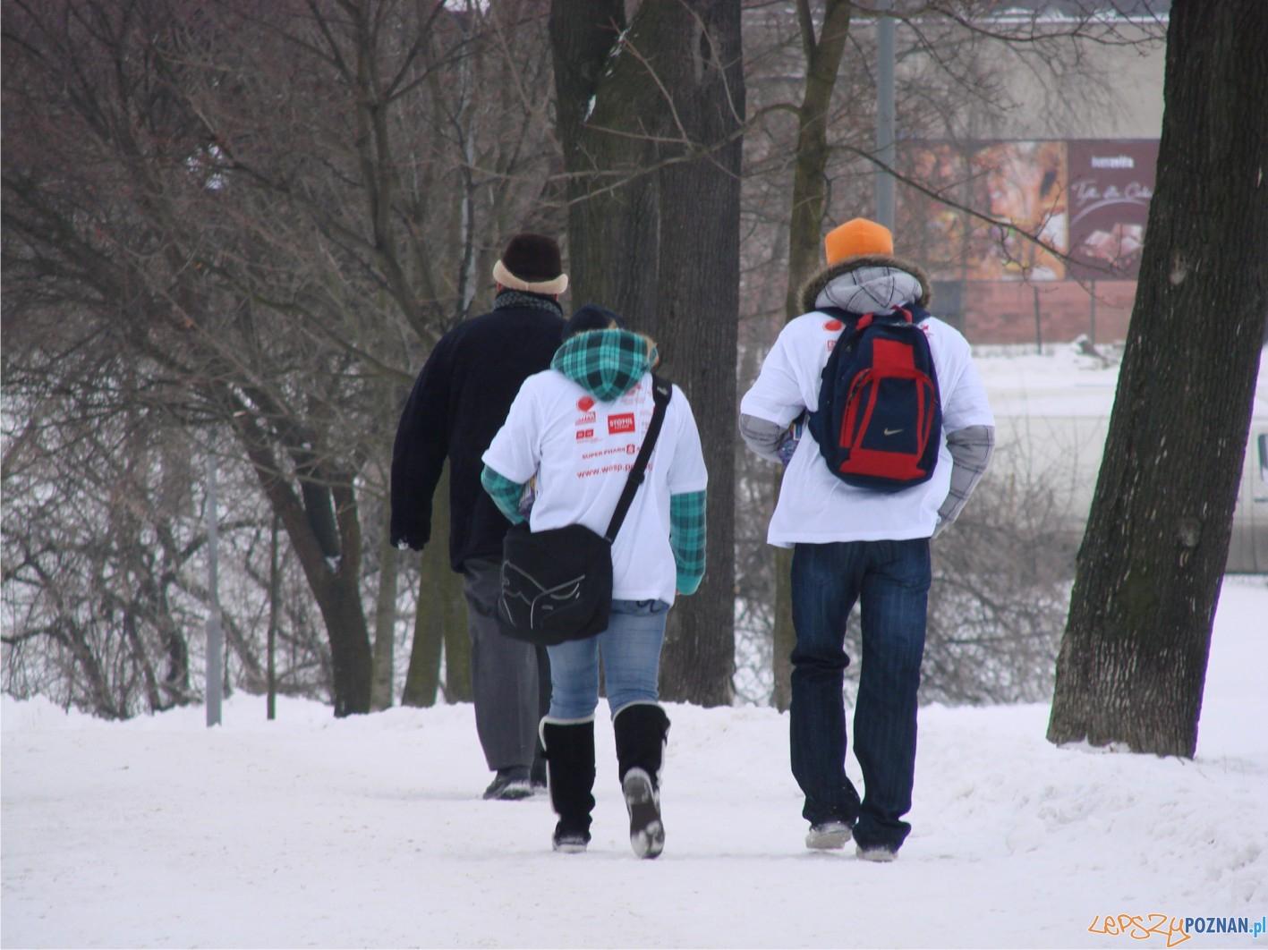 wolontariusze na os. Tysiąclecia  Foto: