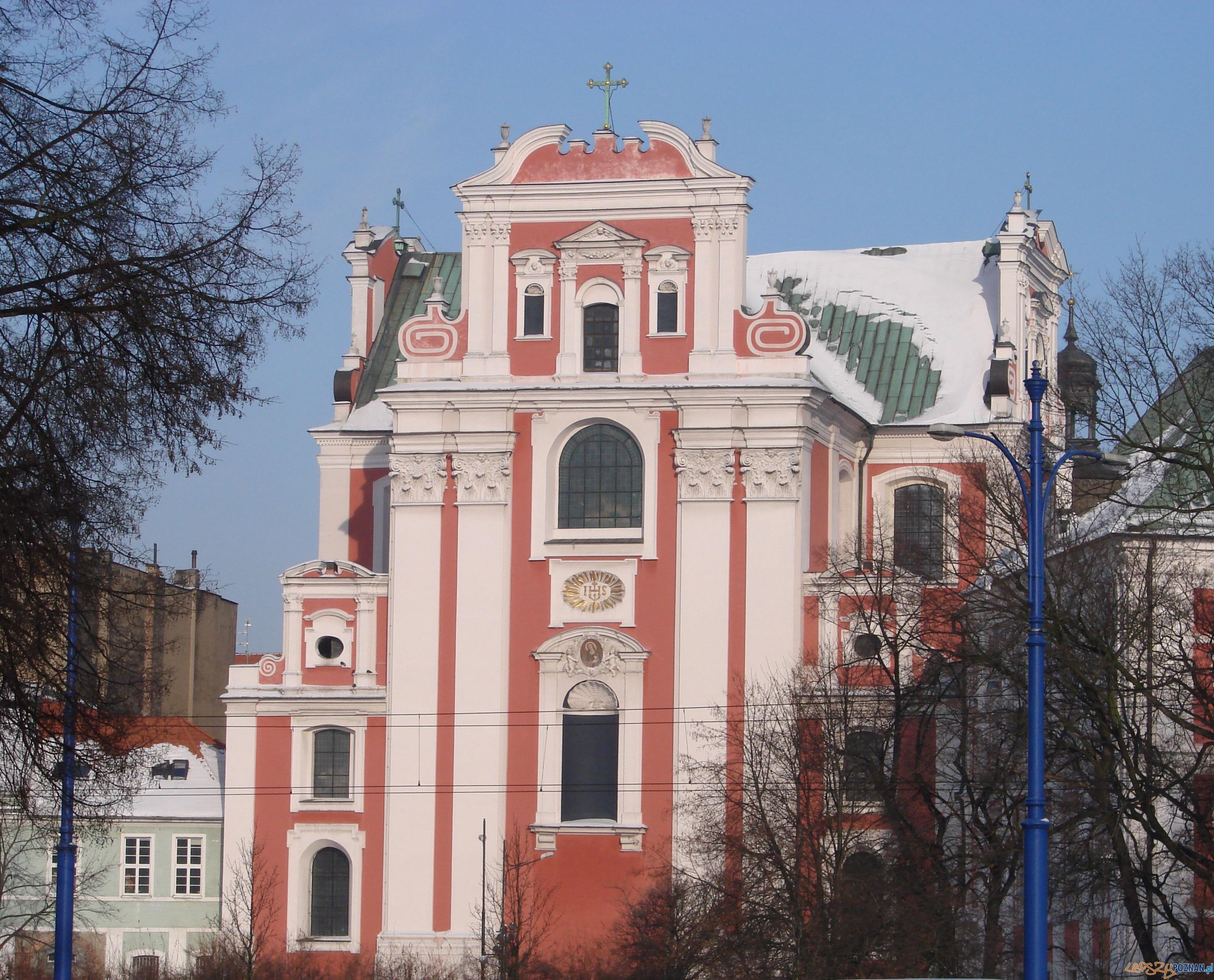 Fara w Poznaniu - widok od ul. Zielonej  Foto: lepszyPOZNAN.pl / ag