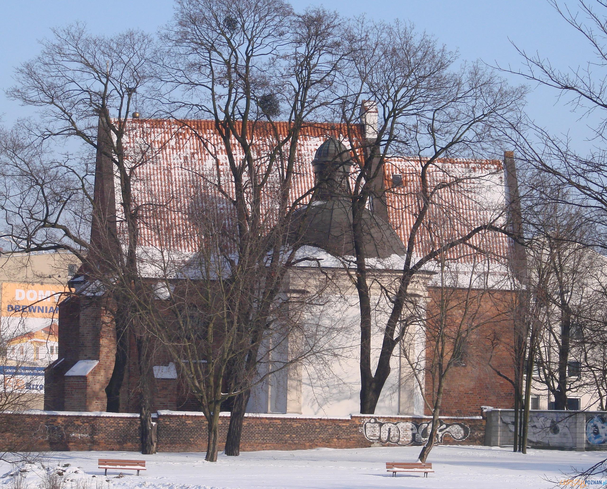 Kościół św. Jana Jerozolimskiego za Murami  Foto: lepszyPOZNAN.pl / tab