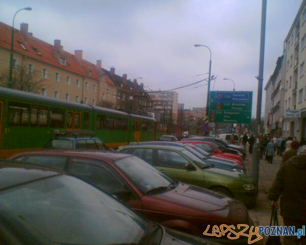 Żeromskiego Dąbrowskiego - awaria zasilania  Foto: