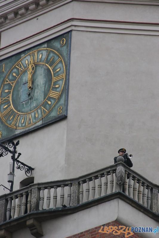 XVII Kaziuk w Poznaniu - hejnał wileński i poznański  Foto: