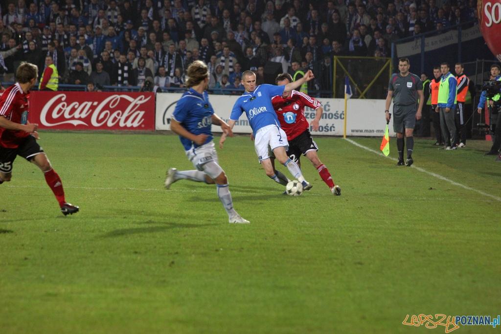 Lech - Legia 1:0  Foto: Piotr Rychter