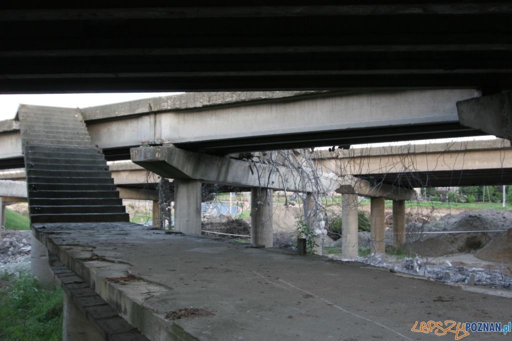 Rozbiórka wiaduktu w Antoninku 2010.06.04  Foto: Paweł Rychter