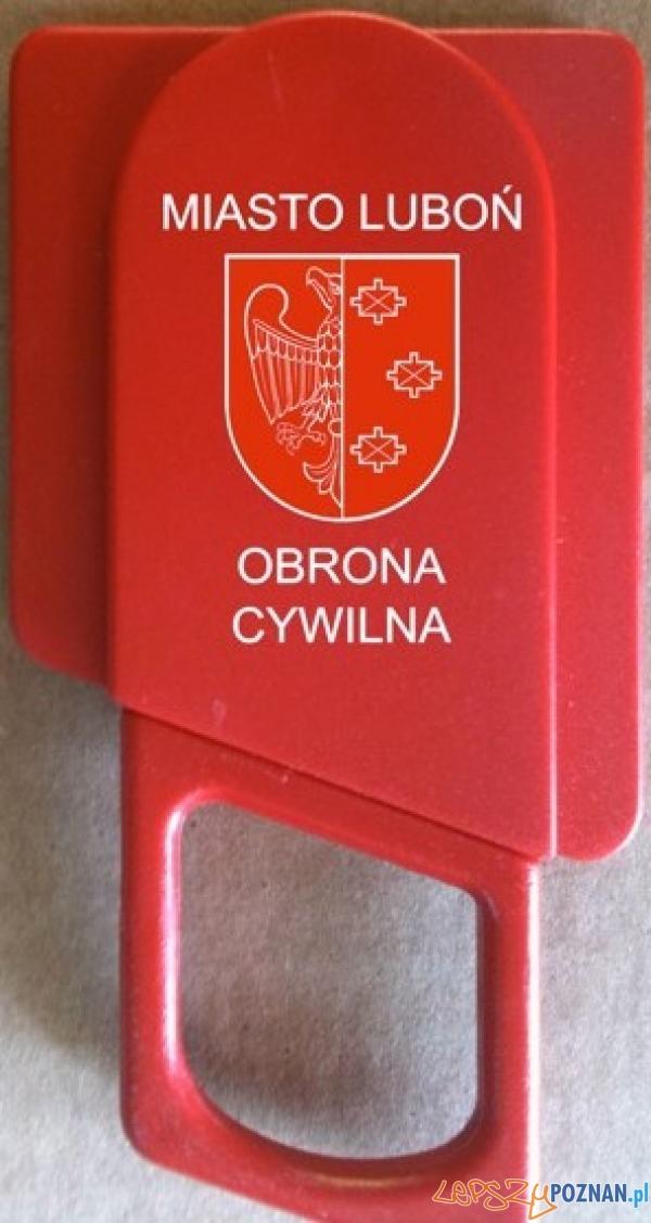 nóż bezpieczeństwa  Foto: UM Luboń