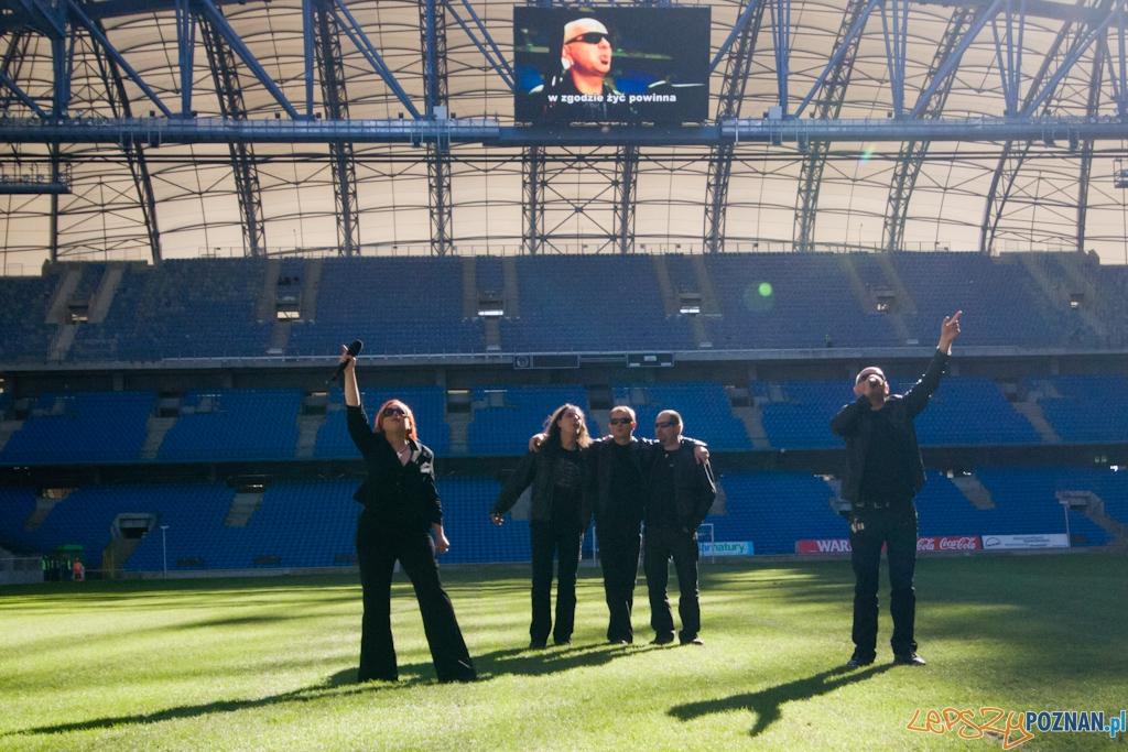 Drzwi otwarte na stadionie miejskim -zespół Lombard - 1.09.2010 r  Foto: Piotr Rychter