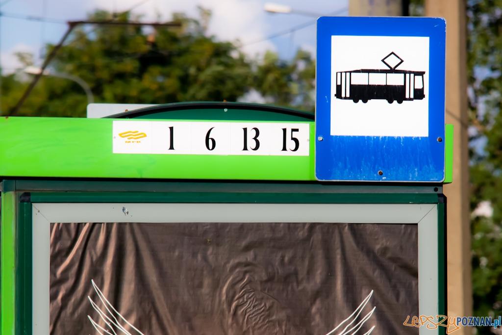 przystanek tramwajowy  Foto: lepszyPOZNAN.pl / Piotr Rychter