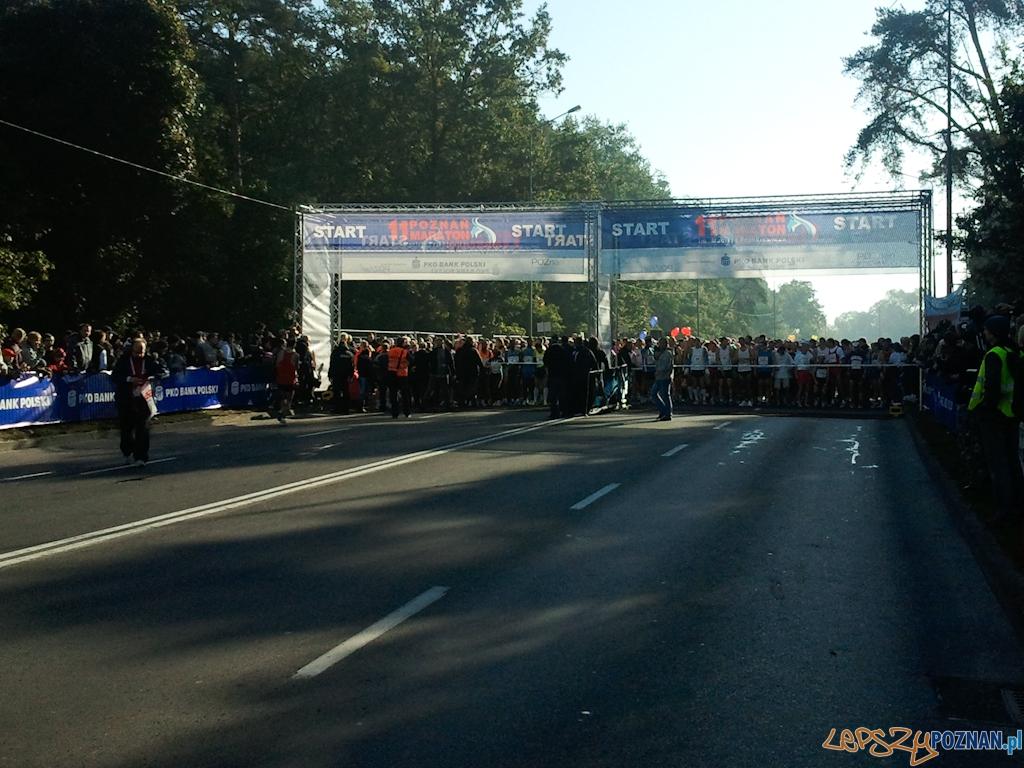 11. Poznań Maraton - Poznań 10.10.2010 r.  Foto: Piotr Rychter