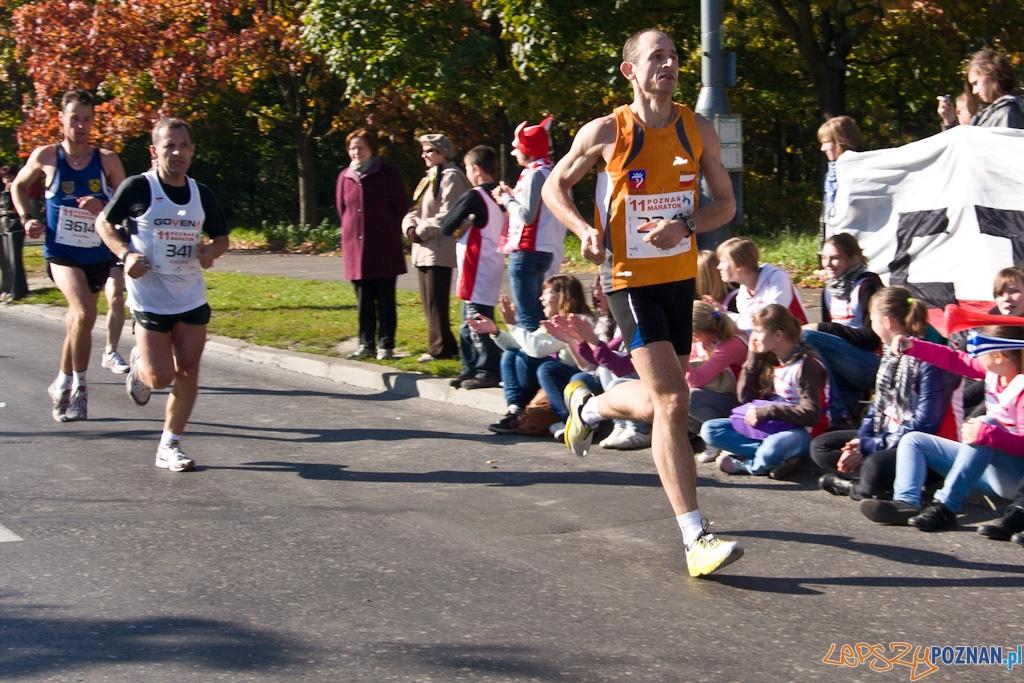 11 poznań Maraton - 10.10.2010 r.  Foto: Piotr Rychter