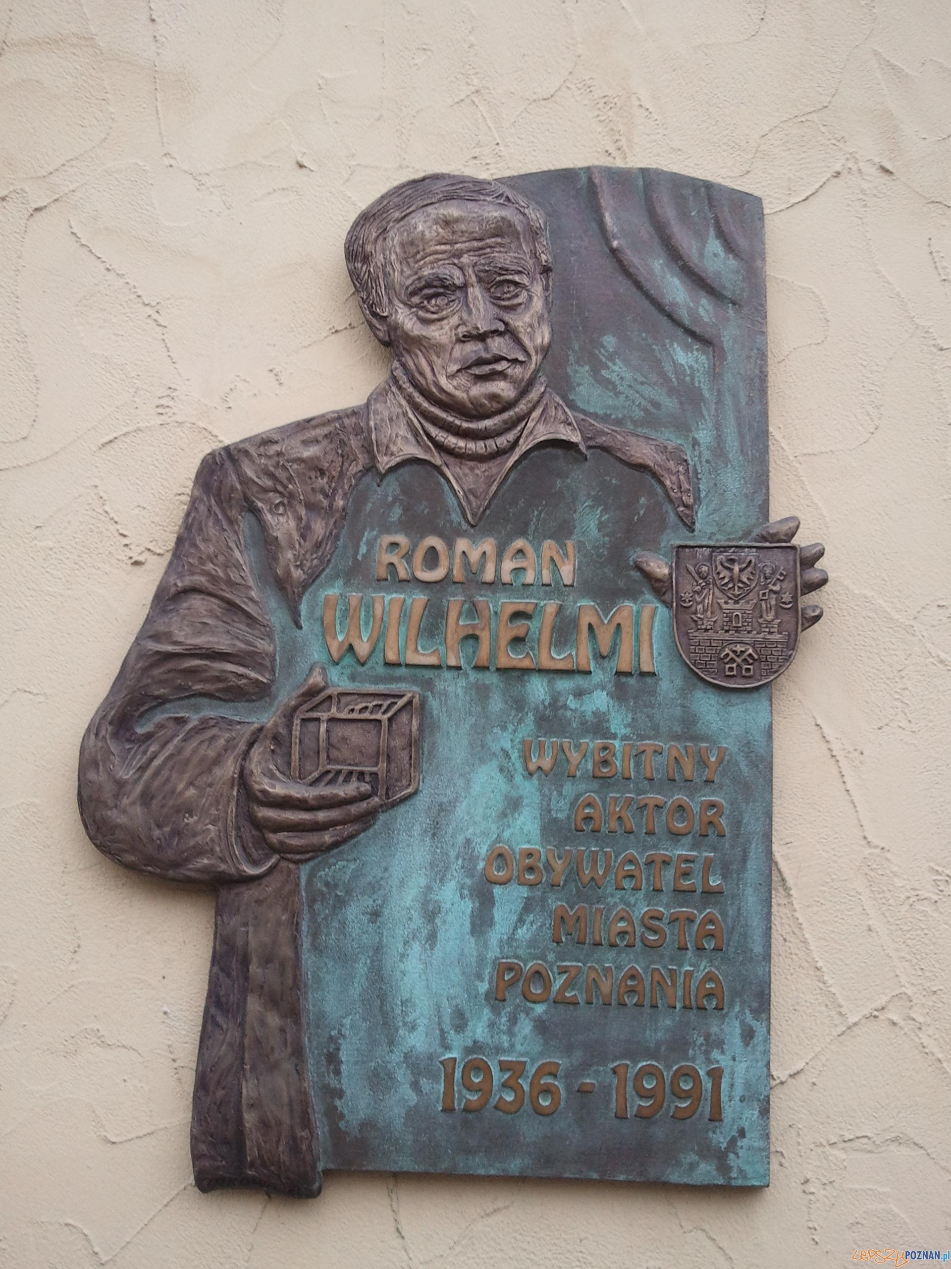 roman wilhelmi tablica  Foto: lepszyPOZNAN.pl