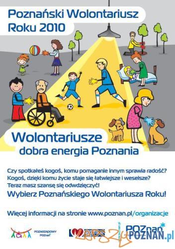 Poznański Wolontariusz Roku 2010  Foto: UMP
