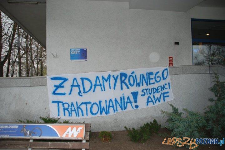Dyskryminacja AWF'u?  Foto: S.Rakowski