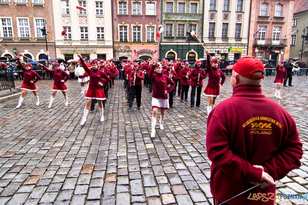 Obchody Narodowego Święta Niepodległości 11.11.2010 r.  Foto: Piotr Rychter