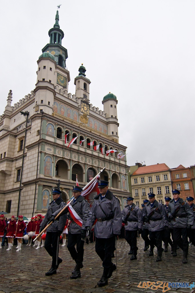 Obchody Narodowego Święta Niepodległości 11.11.2010 r.  Foto: Piotr RychterPiotr Rychter