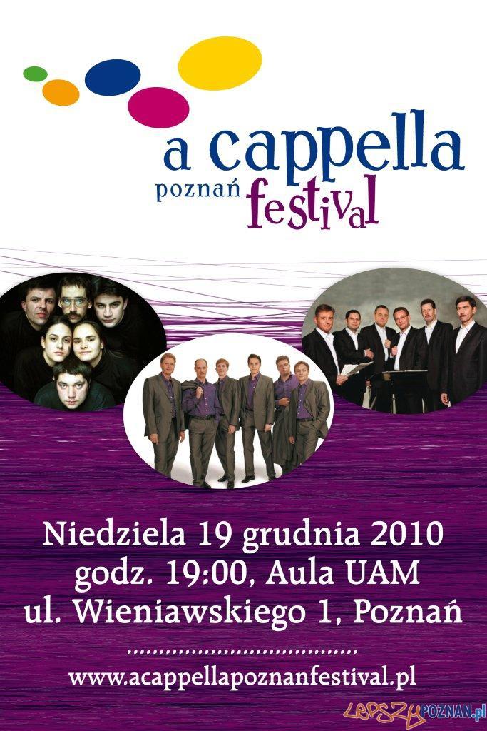 A Cappella Poznan Festival  Foto: