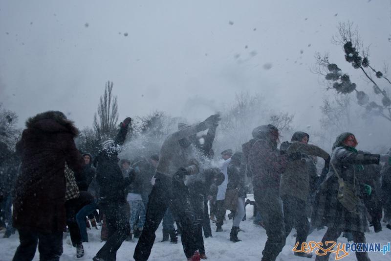 Wielka Poznańska Bitwa na Śnieżki - 18.12.2010 r.  Foto: lepszyPOZNAN.pl / Paweł Rychter