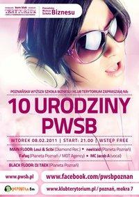 10 urodziny PWSB  Foto: 10 urodziny PWSB