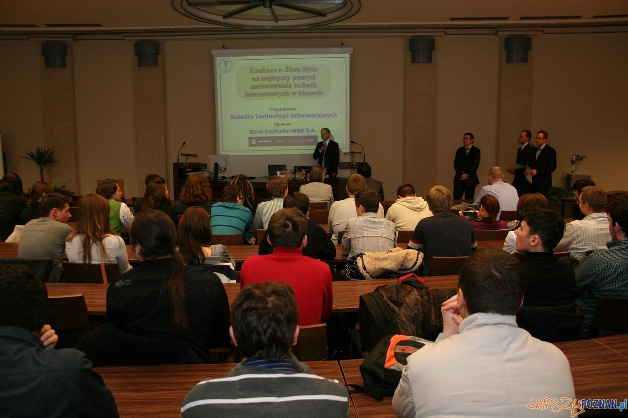 konkurs Złota Mysz 2011 na Uniwersytecie Ekonomicznym w Poznaniu  Foto: Uniwersytet Ekonomiczny w Poznaniu