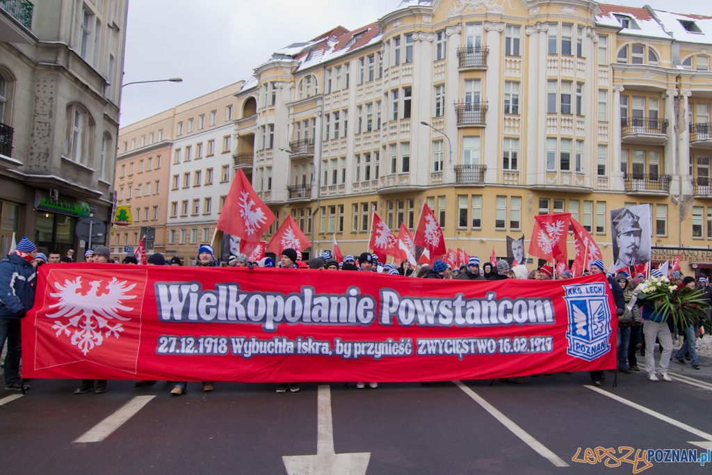 Marsz zwycięstwa  Foto: lepszyPOZNAN.pl / Piotr Rychter