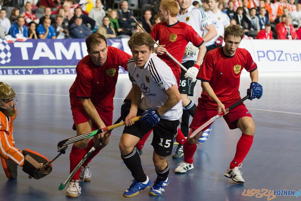 III Halowe Mistrzostwa Świata w Hokeju Na Trawie - Rosja - Niemcy  Foto: lepszyPOZNAN.pl / Piotr Rychter