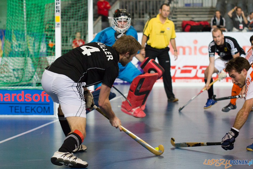 III Halowe Mistrzostwa Świata w Hokeju Na Trawie - Holandia - Niemcy  Foto: lepszyPOZNAN.pl / Piotr Rychter