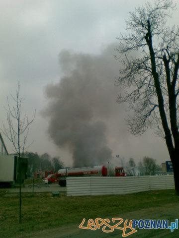 Pożar na Hawelańśkiej  Foto: Paweł/gsm