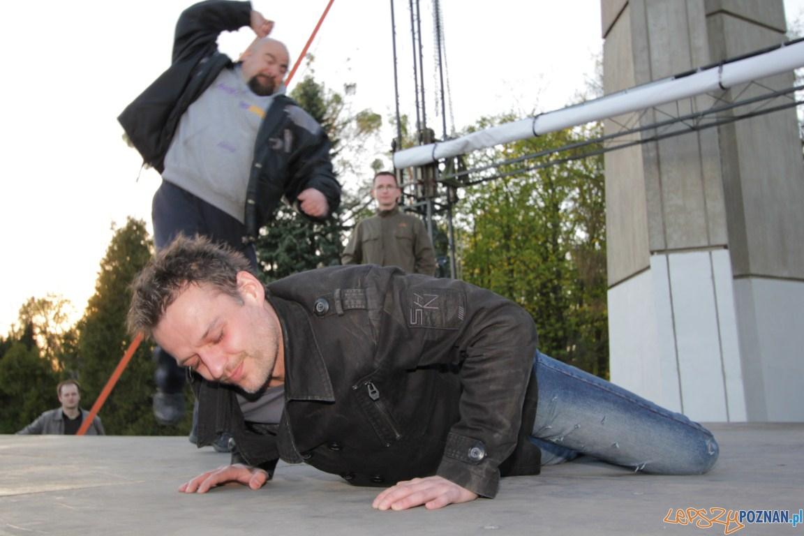 Misterium Pasyjne próba 19.04.2011 r.  Foto: Tomasz Nowak