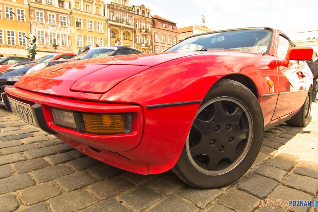 Zlot Porsche na Starym Rynku  Foto: lepszyPOZNAN.pl / Piotr Rychter