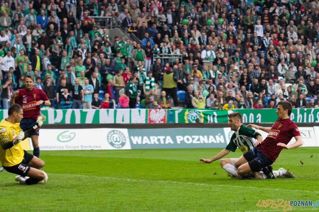 Warta Poznań - Pogoń Szczecin - 17.04.2011 r.  Foto: lepszyPOZNAN.pl / Piotr Rychter