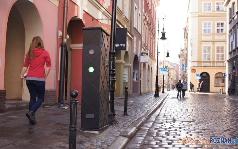 Blokada wjazd od Wielkiej  Foto: ZDM Poznań
