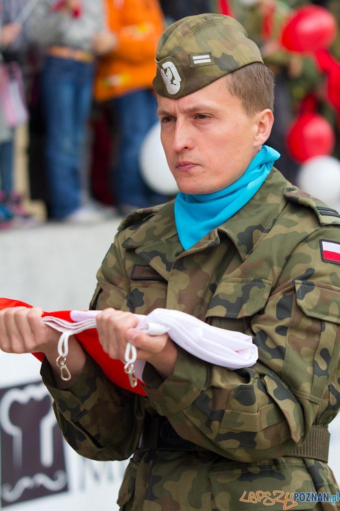 Dzieñ Flagi - 2.05.2011 r.  Foto: lepszyPOZNAN.pl / Piotr Rychter
