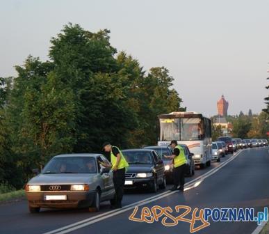 Kontrole drogowe w Śremie  Foto: KWP w Poznaniu