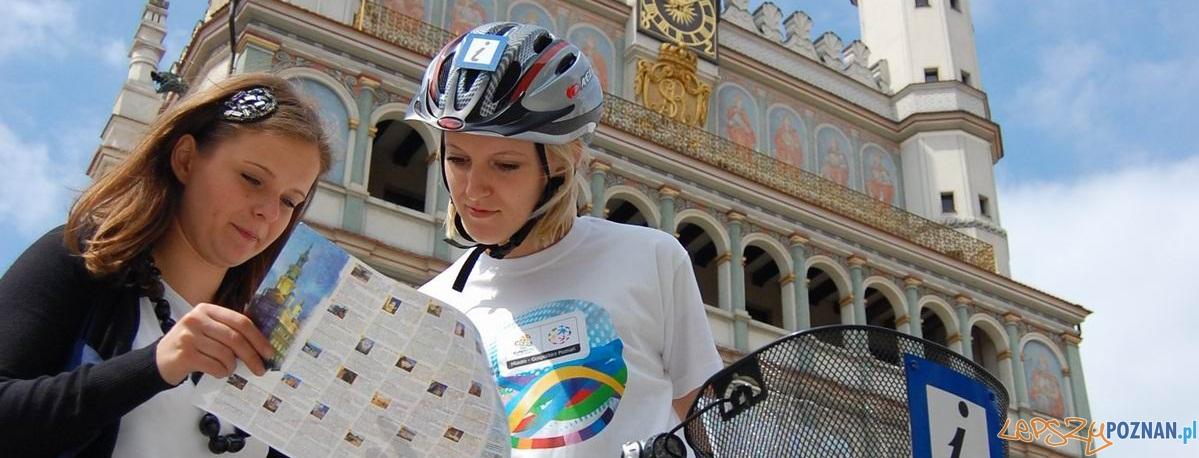 Mobilne punkty informacji turystycznej  Foto: UM Poznania