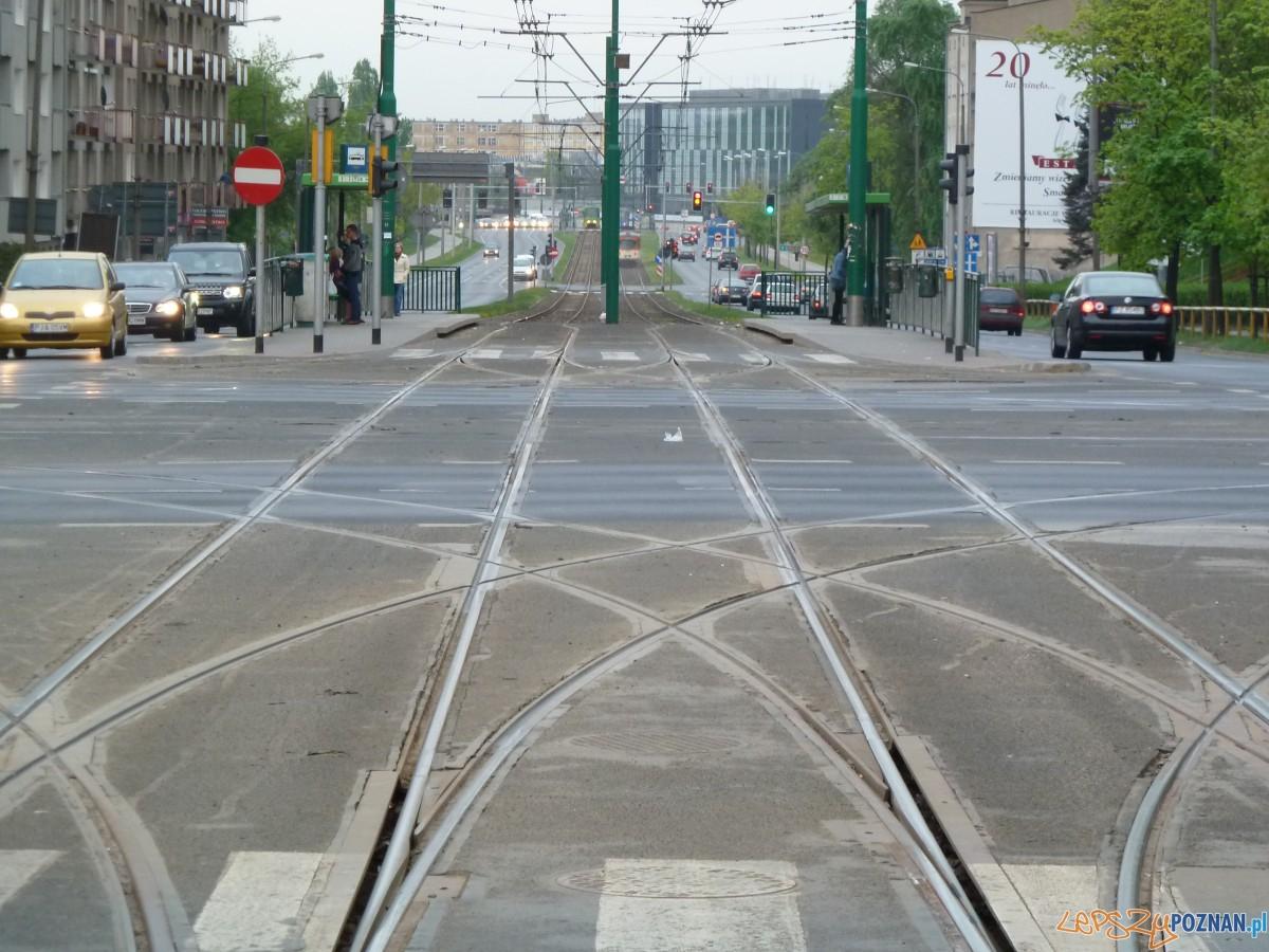 Tory tramwajowe  Foto: lepszyPOZNAN.pl / Maciej Koterba