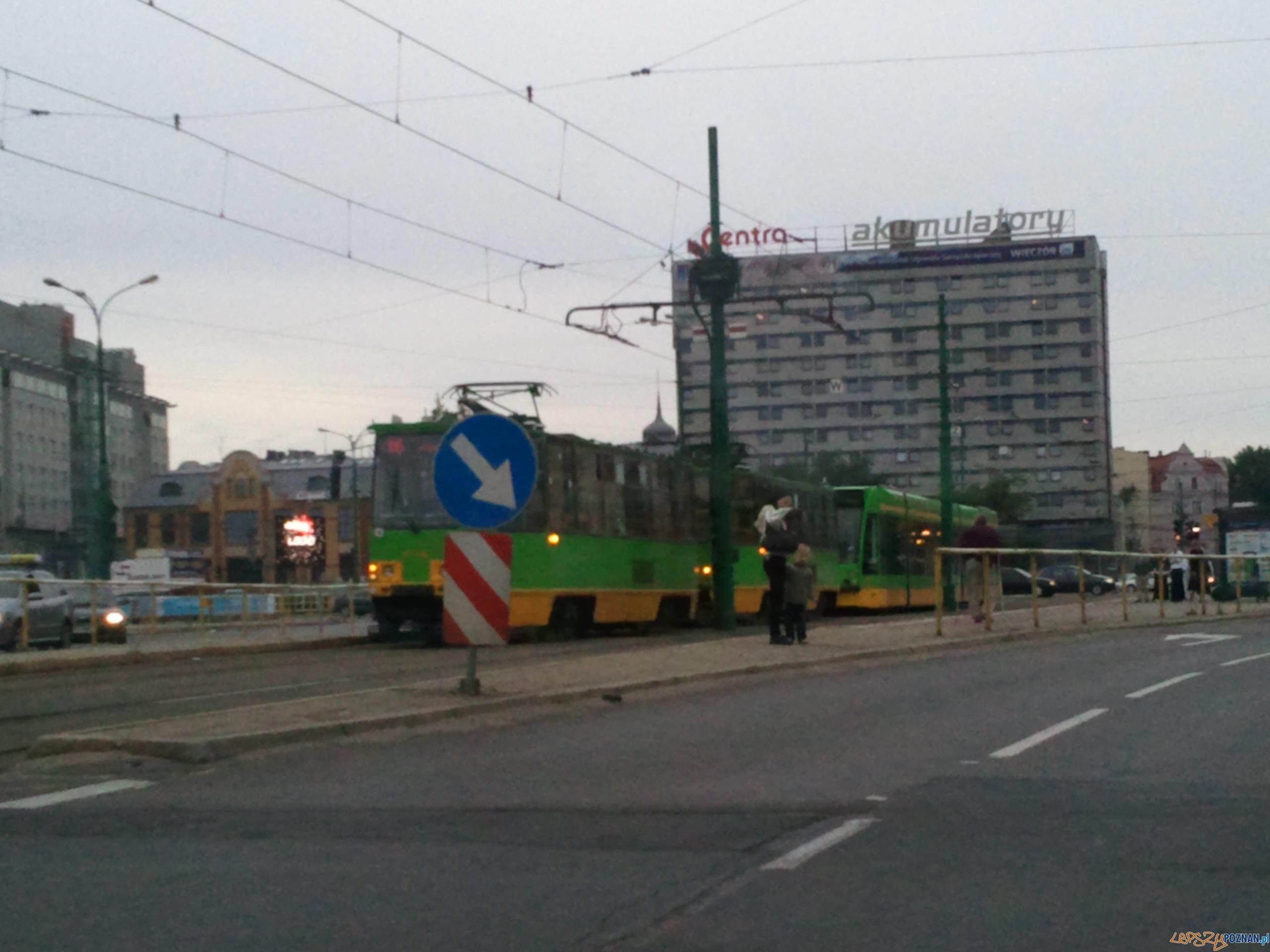 Awaria prądu zatrzymała bimby w centrum  Foto: Piotr