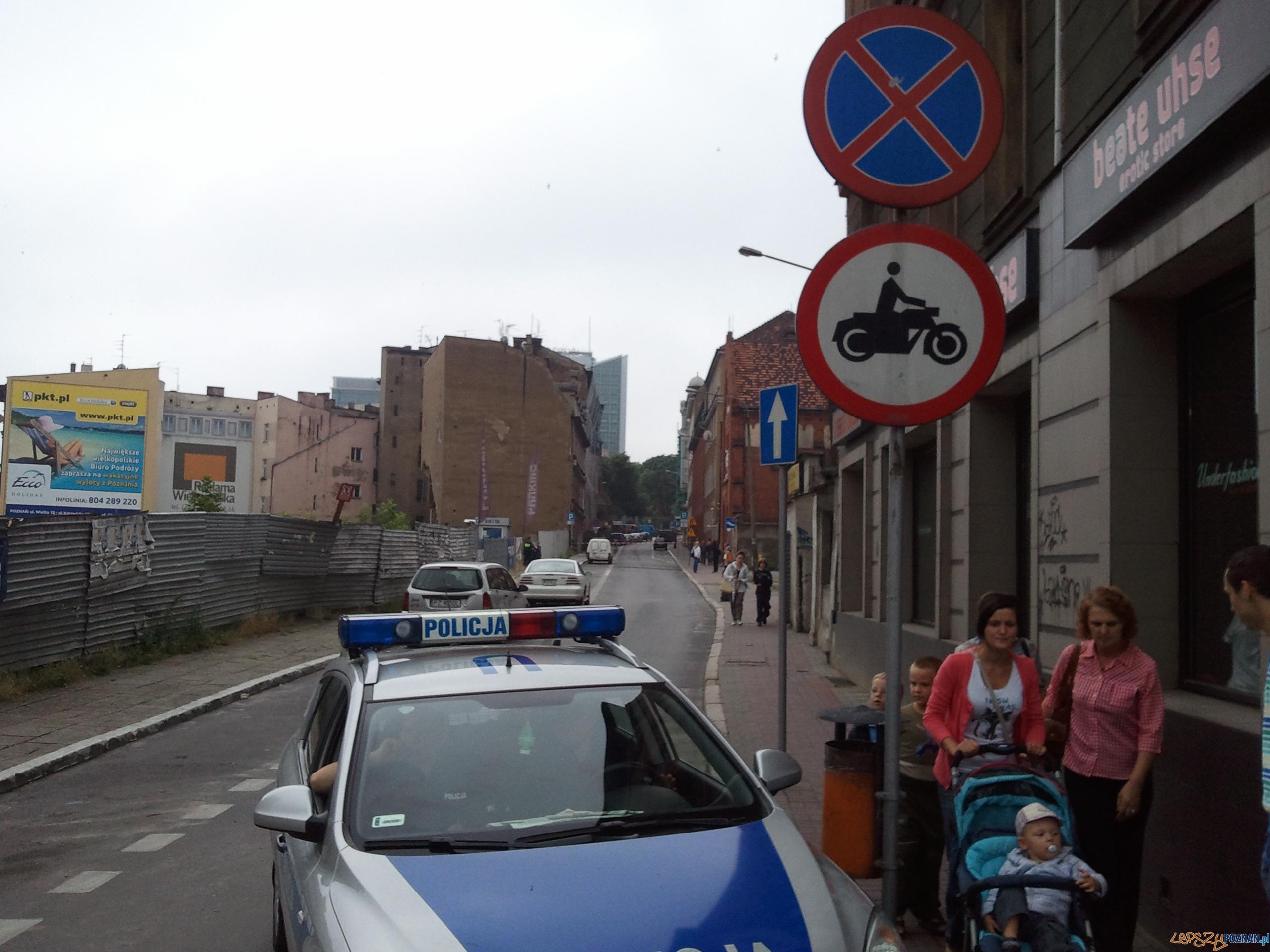 Zamieszanie na Krysiewicza  Foto: lepszyPOZNAN.pl / gsm