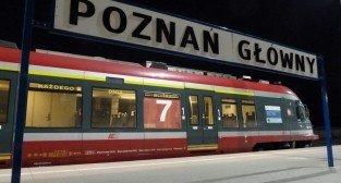 Pociąg Poznań Główny  Foto: lepszyPOZNAN.pl / Maciej Koterba