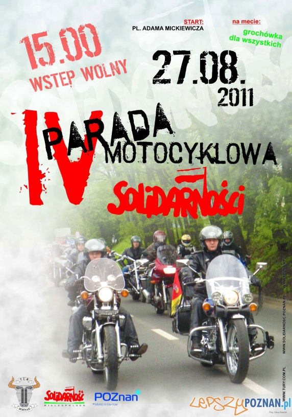 IV Parada Motocyklowa Solidarności  Foto: