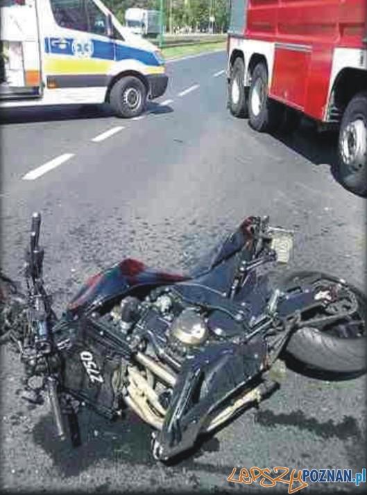 Śmiertelny wypadek na Ratajach  Foto: Piotr Czubiński