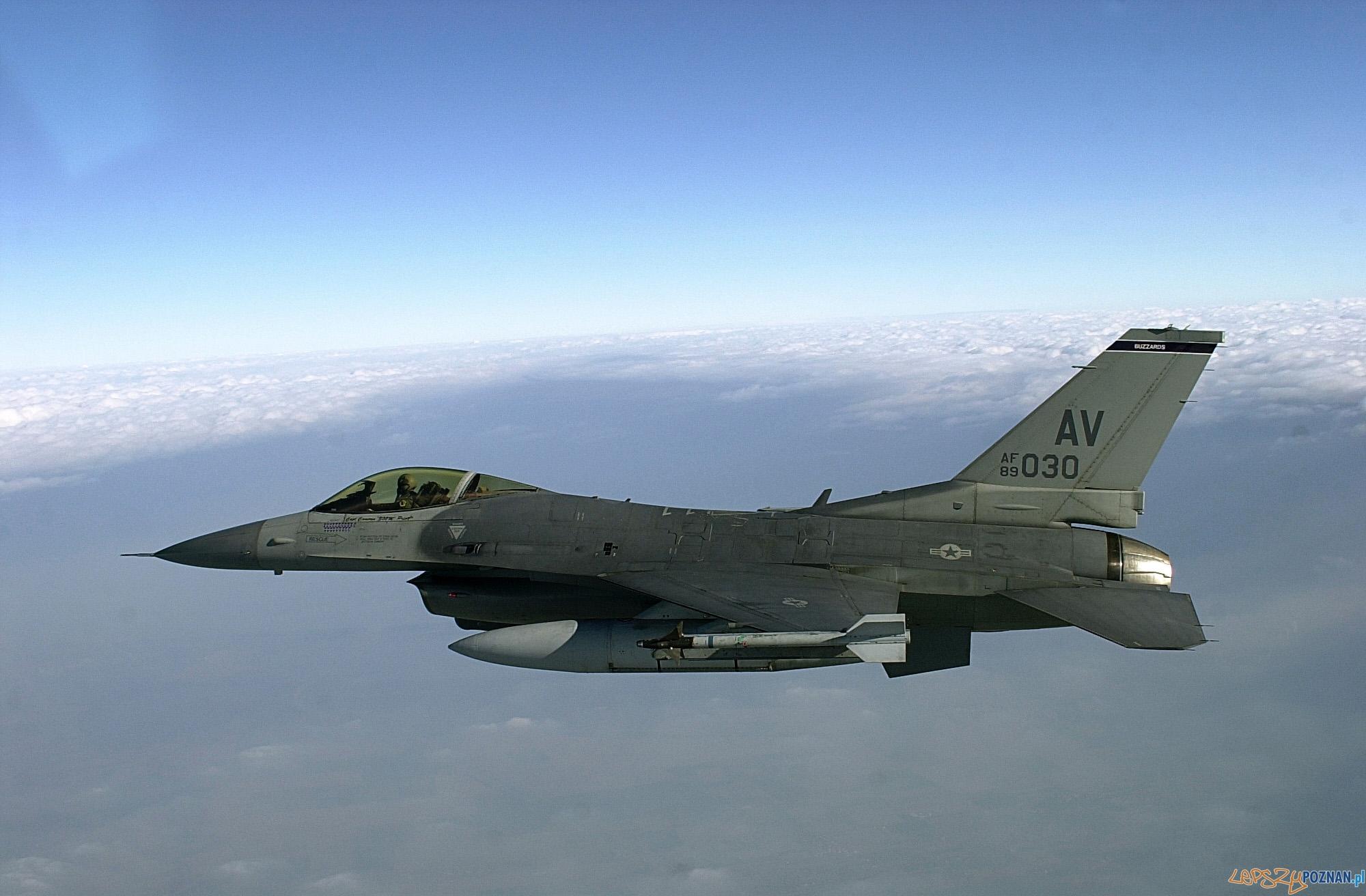 F-16C-510th-Fighter-Squadron  Foto: U.S. Air Force / Dave Ahlschwede