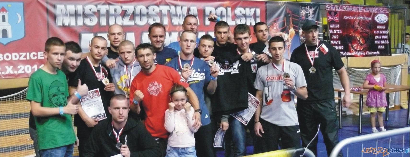 Poznaniacy sięgnęli po kolejne medale - tym razem w boksie tajskim  Foto: klub Kohorta Poznań