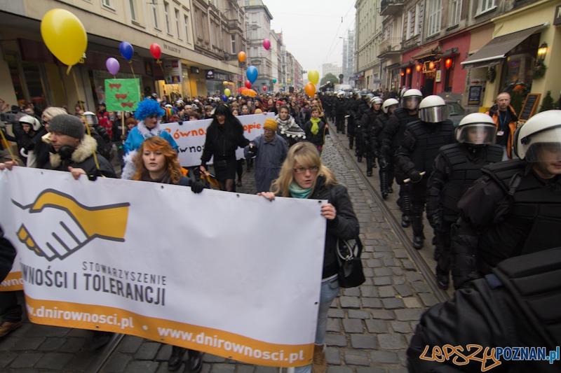 Marsz równości - Poznań 19.11.2011 r.  Foto: lepszyPOZNAN.pl / Piotr Rychter