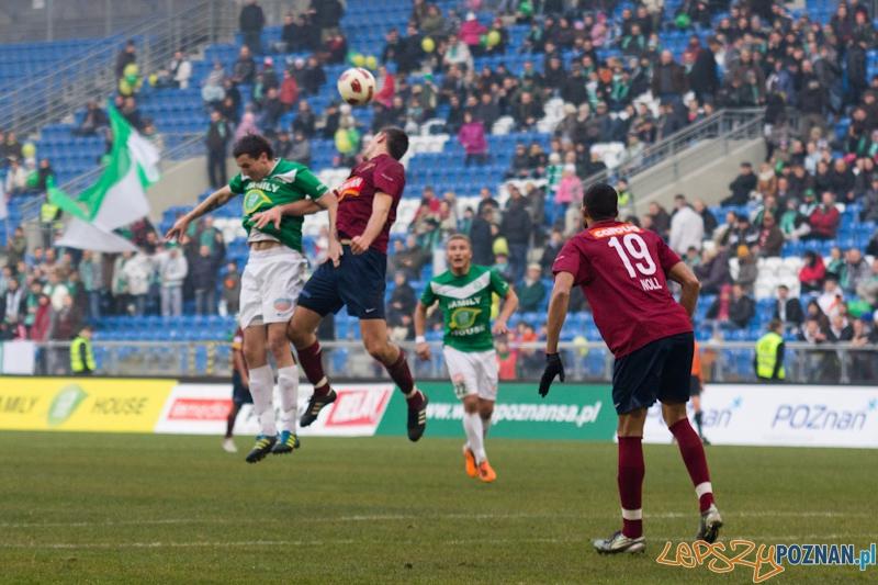 Warta Poznań - Pogoń Szczecin - Stadion Miejski 20.11.2011 r.  Foto: lepszyPOZNAN.pl / Piotr Rychter