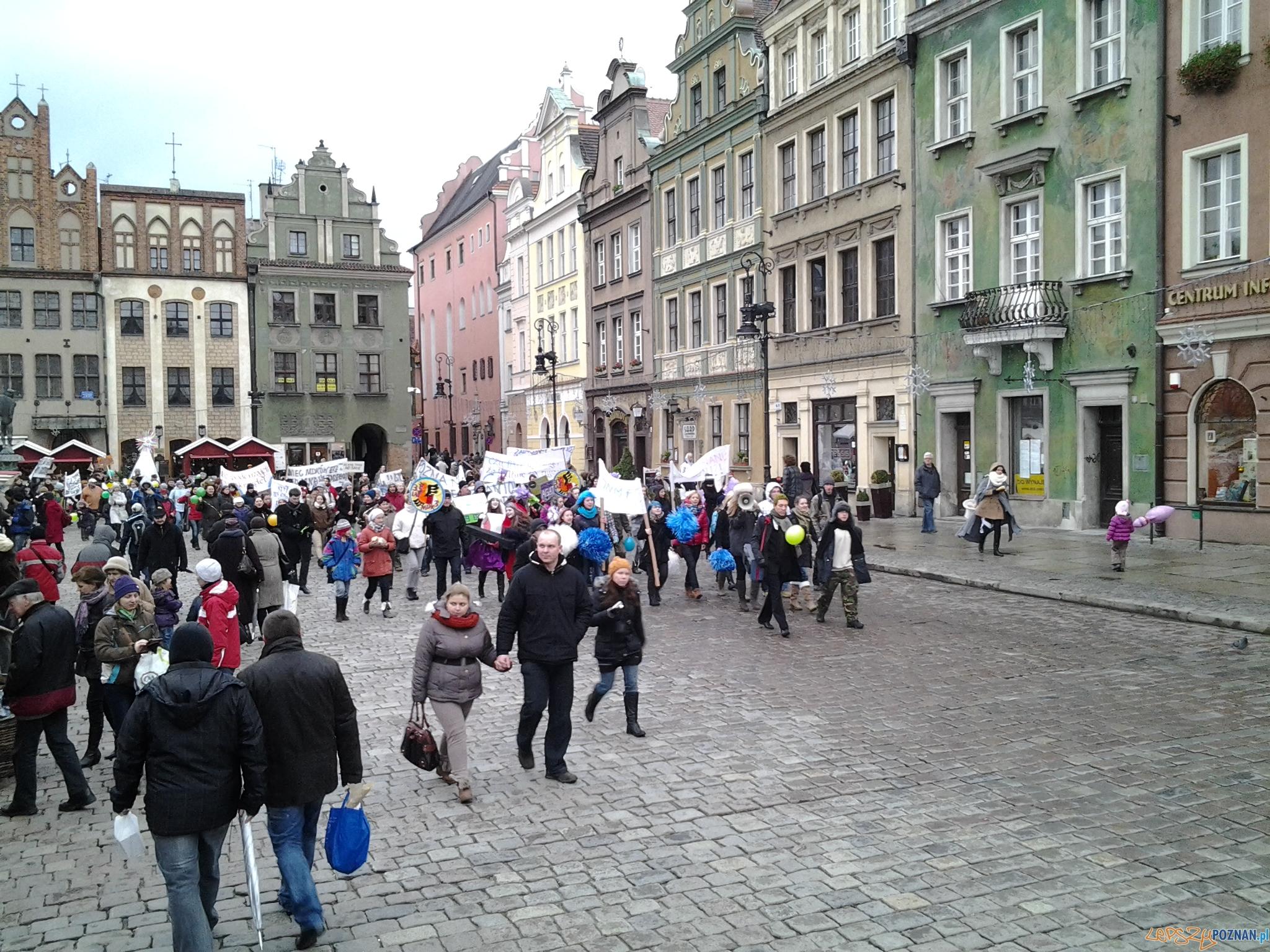Protest przeciwko likwidacji MDKów  Foto: lepszyPOZNAN.pl /ag