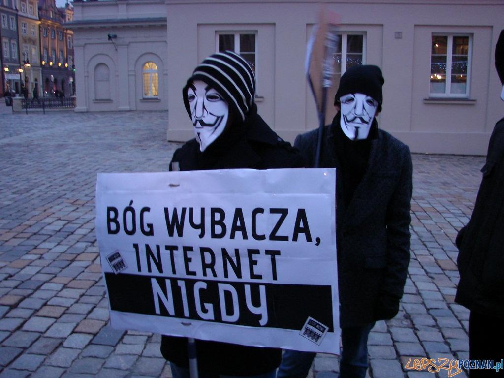 Wielka demonstracja przeciw ACTA  Foto: lepszyPOZNAN.pl / ag