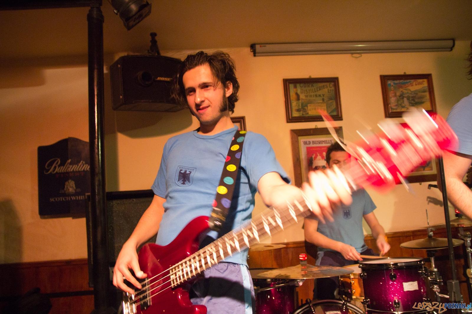 Koncert zespołu Lans Vegas - Dubliner 29.01.2012 r.  Foto: lepszyPOZNAN.pl / Piotr Rychter