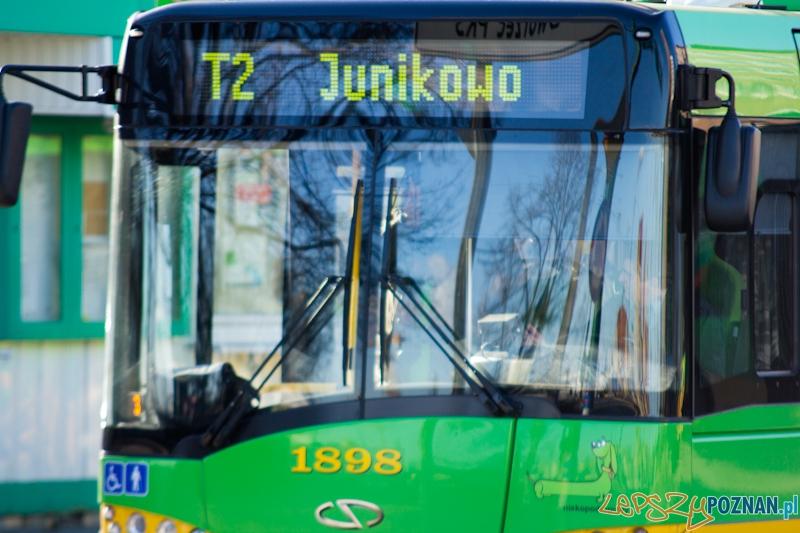 Autobus T2  Foto: lepszyPOZNAN.pl / Piotr Rychter
