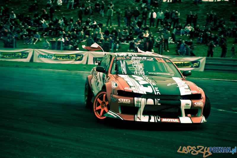 I runda Hell King of Europe Drift 2012 - Tor Poznań 22.04.2012 r.  Foto: LepszyPOZNAN.pl / Paweł Rychter