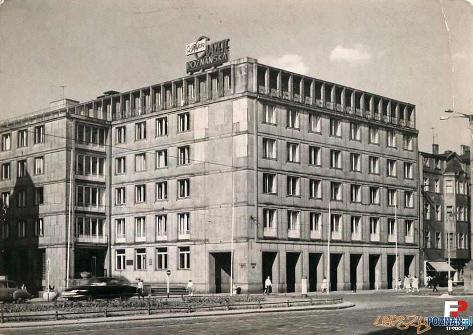Collegium Historicum UAM, zdjęcie z lat 60 - wtedy siedziba Komitetu Wojewódzkiego PZPR  Foto: fotopolska